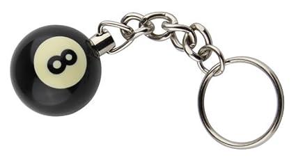 Amazon.com: 8 Ball Billar Piscina clave Cadena: Sports ...