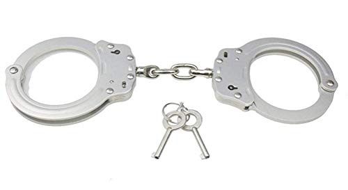 - everydaysell900 Stainless Chain-Linked Handcuffs