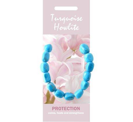 CrystalAge Turquoise Howlite Bracelet - 'Protection'