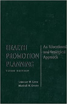 Book Health Promotion Planning: An Educational and Ecological Approach