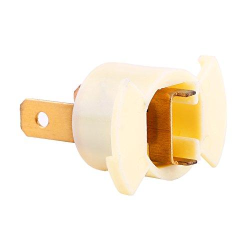 QTY2 H1 Halogen Headlight Bulb Sockets Holder replaces Honda Acura 33116-SD4-961