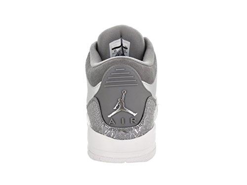 Nike Air Jordan 3 Retro Prem Hc, Zapatos de Baloncesto para Niños Grigio