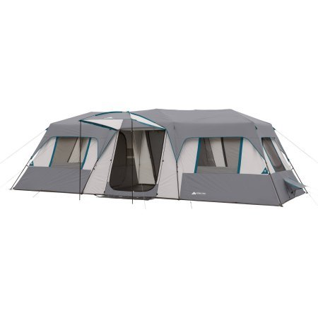 Ozark-Trail-15-Person-3-Room-Split-Plan-  sc 1 st  Discount Tents Nova & Ozark Trail 15-Person 3 Room Split Plan Instant Cabin Teal ...