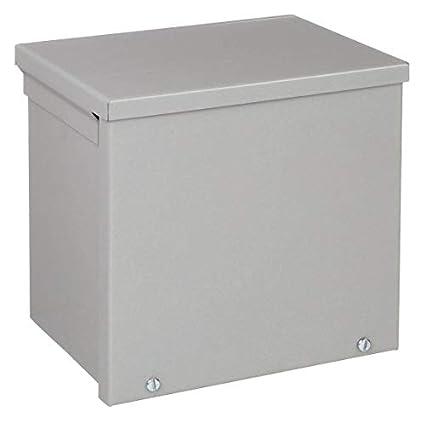 "Pack of 1 Hoffman A10R106NK Enclosure Metallic 10.00/"" x 10.00/"" x 6.00/"" 3R"