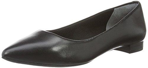 Rockport Bailarinas Adelyn Ballet Negro (Black Burn Calf)