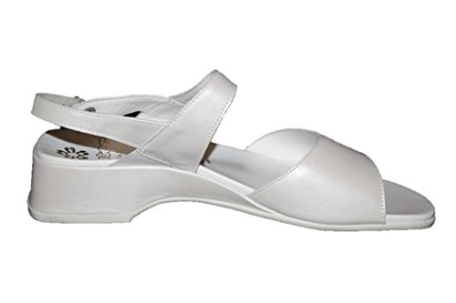 Ganter - Sandalias Romanas Mujer Weiß