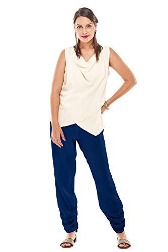 Oh My Gauze Women's Essie Pant S/M (6-10) Sapphire