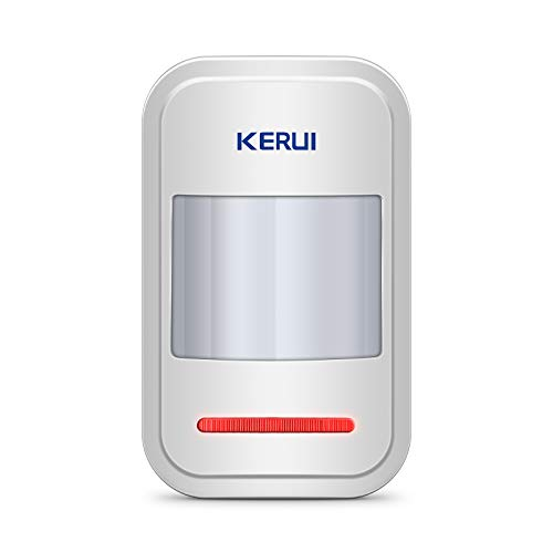 KERUI 433MHz Safety Driveway Patrol Infrared Wireless Intelligent PIR Motion Detector For GSM PSTN Home Security Alert Alarm System be notified of your surroundings