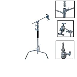 ePhoto Studio Photo Video Arm Grip Gobo Century Light C Stand by ePhoto INC FT9103_C_Stand