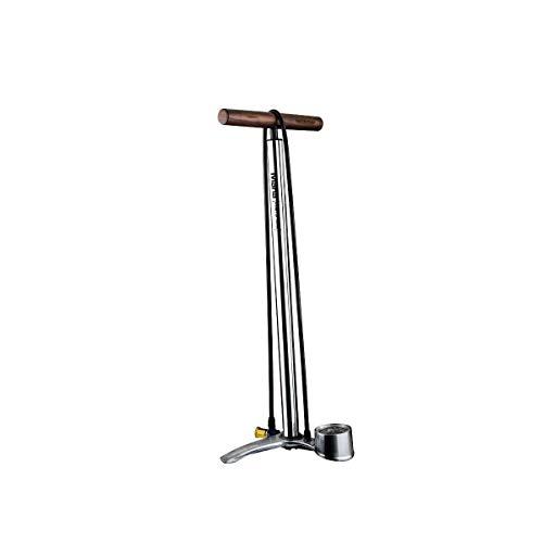 Birzman Maha Push & Twist III Floor Pump Silver, One Size (Birzman Pump)