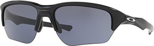 Oakley Men's Flak Beta Rectangular Sunglasses, Matte Black, 64 - Flak Oakley Beta