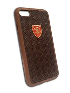 iPhone 7 Rubber case with leather