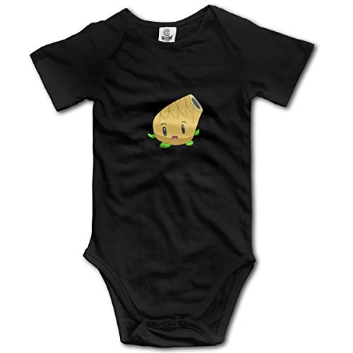 XHX Newborn Baby's Pineapple Mortar Short Sleeve Romper Onesie Bodysuit Jumpsuit ()