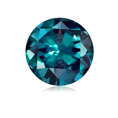 Lab Created Alexandrite Ring - 1.40-1.62 Cts of 7 mm AAA Round (1 pc) Loose Russian Lab Created Alexandrite Gemstone
