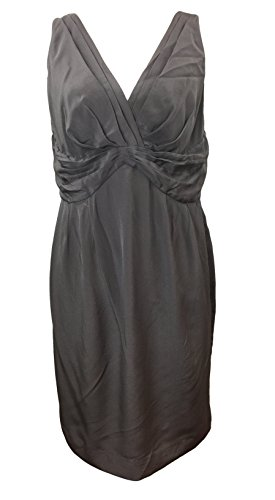 Boden Vestito Cocktail Us Dimensione Impertinente 10 Grigio Di Seta Party rwrqSH1