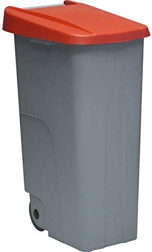85 L Denox 23440.254 Conteneur Eco Unique Polypropyl/ène Rouge