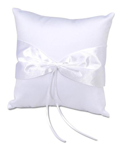 - Darice VL32, Ring Pillow Design Your Own, White