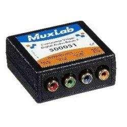 MuxLab, Inc. 500051 Component Video/Digital Audio Balun, Female by Muxlab
