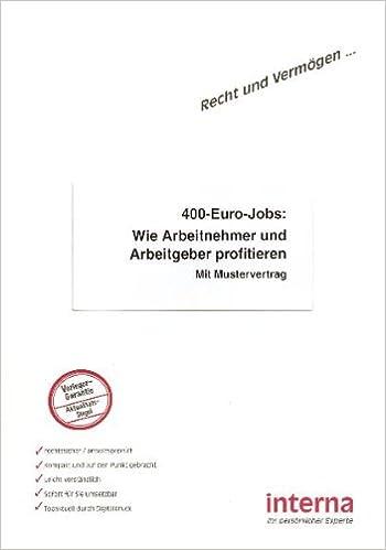 400 Euro Jobs Wie Arbeitnehmer Und Arbeitgeber Profitieren