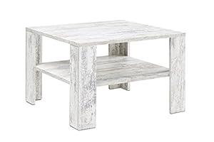 Presto mobilia side table kolja 67 x 67 x 44 cm wei for Mobilia jura table