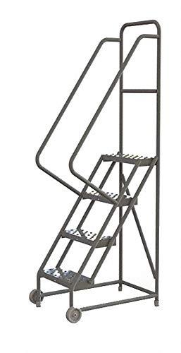 Tri-Arc KDTF104166 - Tilt and Roll Ladder 4 Step Perforated