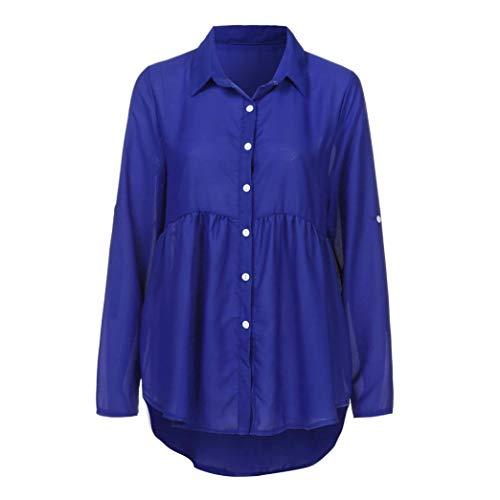Womens Blouses, KIKOY Long Sleeve Chiffon Ladies OL Work T Shirt