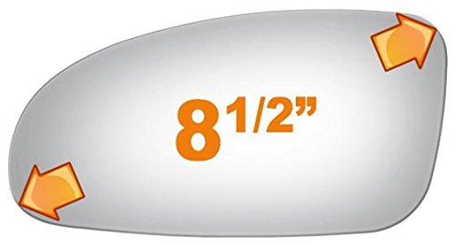Burco 2753 Driver Side Replacement Mirror Glass for 2000-2005 PONTIAC ()
