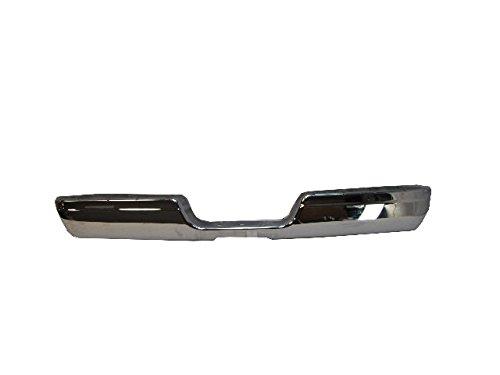 1994-2001 Dodge Ram 1500 1994-2002 Dodge Ram 2500 3500 Rear Bumper Face Bar Chrome ()