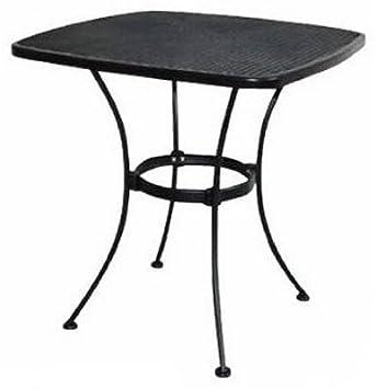 WOODARD CM WI 300 T Uptown Steel Mesh Bistro Table, 28u0026quot;