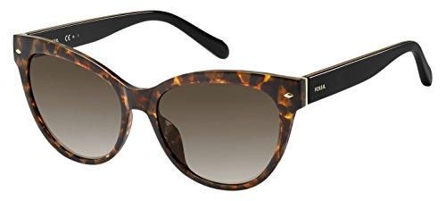Fossil Women's Fos 2058/s Round Sunglasses, Havana, 54 mm -  Fossil Eyewear, FOS 2058/S 086 54HA