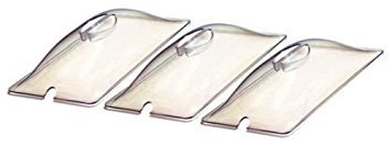 Broil King CL-3 Third Sized Clear Lids for Buffet Server, Set of 3