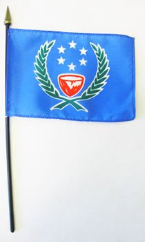 """Pohnpei - 4"""" x 6"""" World Flags"""