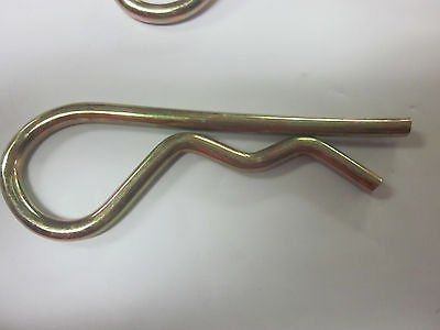 "50 Goliath Industrial 5/32"" X 3-1/8"" R Pin Hair PinS Hitch Clips RP532 Tractor from GOLIATH INDUSTRIAL TOOL"