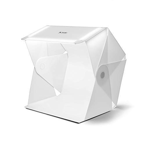 Foldio3 (25 All-in-one Portable Foldable Light Photo Shooting Studio Box with LED Lights) by ORANGEMONKIE