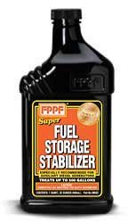 FPPF 90602 SUPER FUEL STORAGE STABILIZER 32 OZ BOTTLE, TREATS 500 GALLONS OF DIESEL FUEL PER BOTTLE