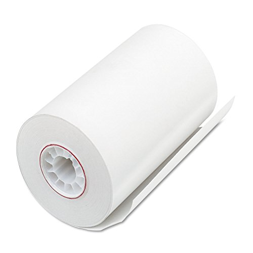"PM Company Thermal rolls for Cash Register/POS, 3-1/8"" x 90', 72 Rolls per Carton (05209)"