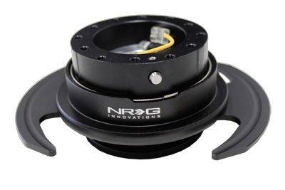 NRG SRK-650BK Gen 3.0 Steering Wheel Quick Release Kit - Bla