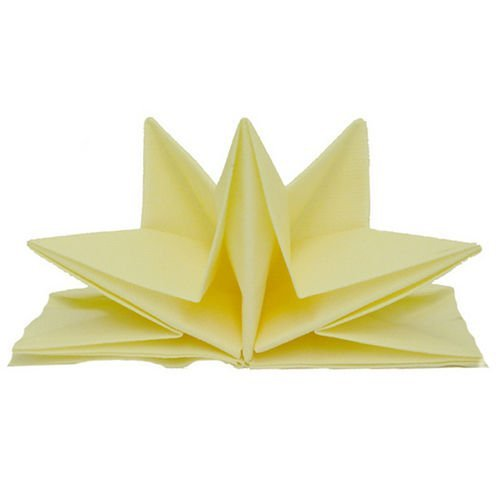 Finishing Touch Party Store Pre Folded Star Napkins Cream...