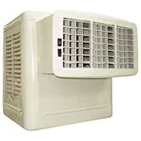 Dayton 4RNN6 Evaporative Cooler, Window, CFM 4800, Front