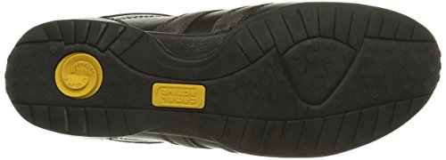 camel active Men's Space 26 Low-Top Sneakers Blue (Black/Charcoal 01) best store to get for sale yRaeQ