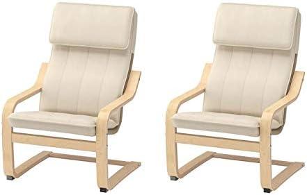 IKEA cbkoa dondolo 'Poäng' sedia poltrona per bambini bambino sedia in legno di betulla con fodera lavabile