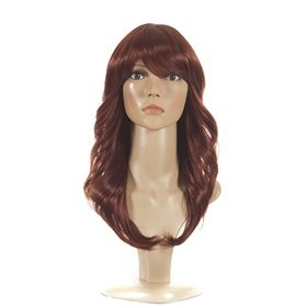 [Charlie Wig | Reverse Flick Curl 70's Inspired Wigs | Premium Quality Fashion Wigs] (Farrah Fawcett Wig)