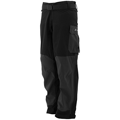 Pilot Toggs Frogg (Frogg Toggs Pilot Guide Pants, X-Large, Black/Charcoal)