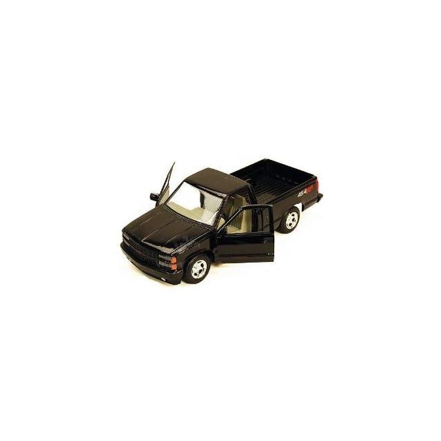1992 Chevrolet SS 454 Pickup Truck Black 1/24 73203