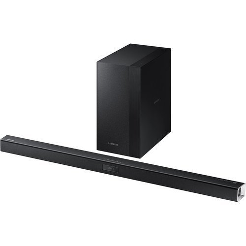 (Samsung 2.1 Channel 300 Watt Sound Bar with Wireless Active Subwoofer Home Theater System)