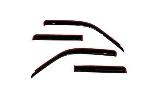 Auto Ventshade 94074 Original Ventvisor Side Window Deflector Dark Smoke, 4-Piece Set for 1991-2001 Ford Explorer, 2001-2005 Explorer Sport Trac, 1997-2001 Mercury -