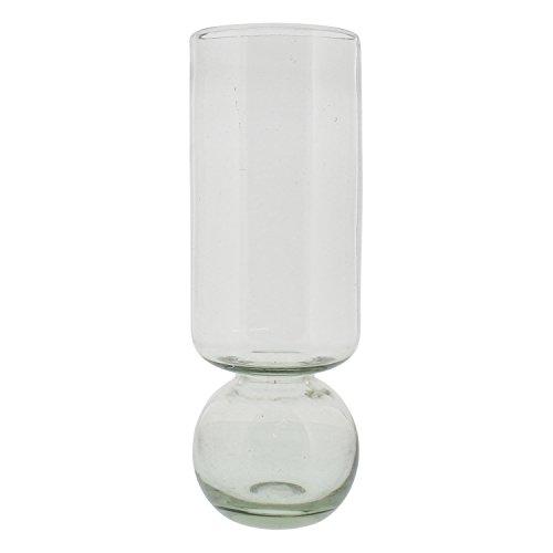 Amaryllis Vase - Recycled Glass Tall Bulb Vase