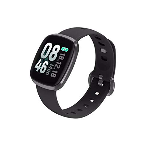 CZYCO HD Full Screen Horizon Smart Watch Sports Fitness Activity Heart Rate Tracker Blood Pressure Calories(Gray)
