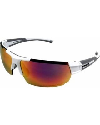 c1c7044b342 Amazon.com  Rawlings 26 White Red Mirror Baseball Sunglasses (One ...