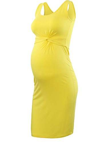 (Liu & Qu Pregnant Women's Off Shoulder Maternity Stretch Maxi Dress Gown with Train for Parties, Baby Showers, Maternity Shoots)